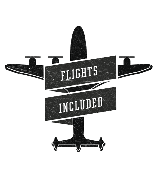 All inclusive  - flights also