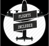 Alles inklusive — auch die Flüge