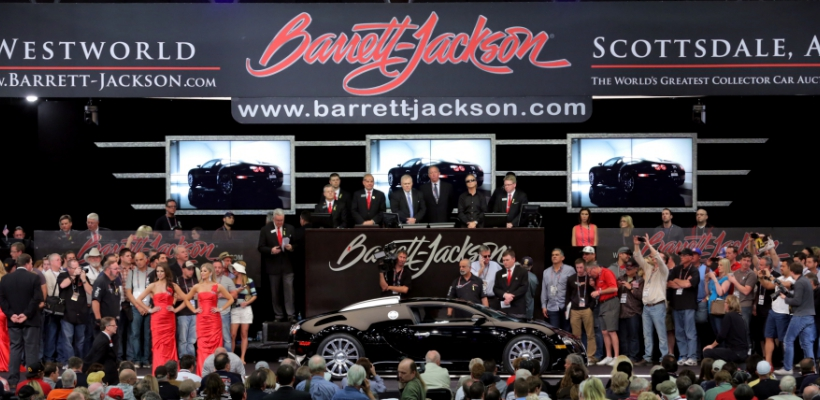 BARRETT-JACKSON® CLASSIC CAR AUCTION SCOTTSDALE 2015.