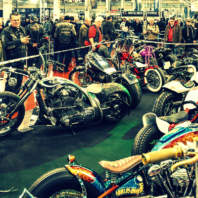 Hotel for the Custombike show 2014