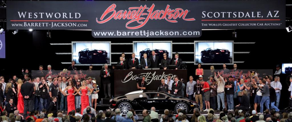 BarrettJackson Classic Car Auction Scottsdale Muscle Car - Barrett jackson car show scottsdale